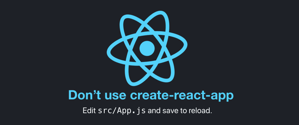 Don't use create-react-app: How you can set up your own reactjs boilerplate.
